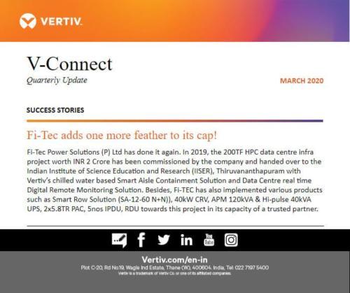 Vertiv Newsletter